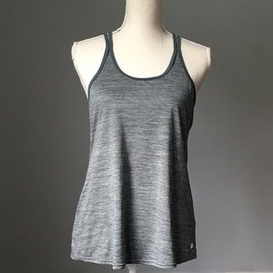 Apana Yoga Strappy Tank Top Gray Size Medium